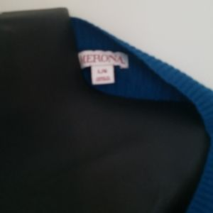 Merona Sweaters - Ribbed blue sweater size L